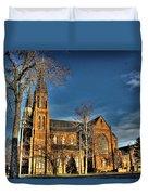 St. Annes Detroit Mi Duvet Cover