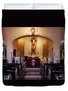 St. Ann's Church Of Tubac Arizona Duvet Cover