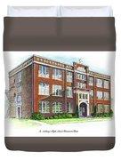 St. Anthony's High School Duvet Cover