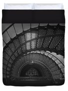 St. Augustine Lighthouse Spiral Staircase II Duvet Cover