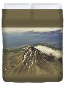 St. Augustine Volcano Duvet Cover