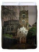 St Bartholomew The Great Church Duvet Cover