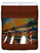 St Benedicts Painted Church 11 Duvet Cover