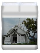 St Benedicts Painted Church 12 Duvet Cover