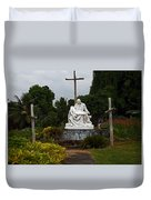 St Benedicts Painted Church 3 Duvet Cover