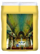 St Benedicts Painted Church 6 Duvet Cover
