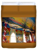 St Benedicts Painted Church 8 Duvet Cover