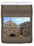 St Catherine Church Duvet Cover