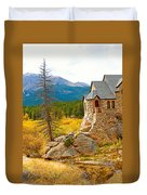 St. Catherine's Church In Autumn Duvet Cover