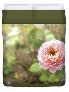 St. Cecilia Shrub Rose, Pink Rose Originally Produced By The Br Duvet Cover