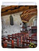 St Celynnin Church  Interior Duvet Cover