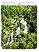 St Columba Falls Tasmania Duvet Cover