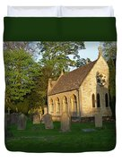 St Davids Church Cemetary 1 Duvet Cover