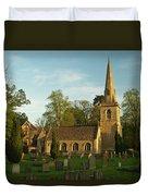 St Davids Church Cemetery 3 Duvet Cover