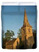 St Davids Church Duvet Cover