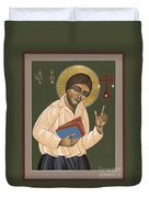 St Edith Stein Patroness Of Europe 182 Duvet Cover