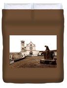 St. Francis Basilica, Assisi  Duvet Cover