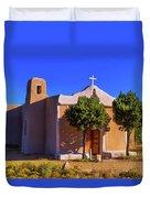 St. Francis De Assisi Adobe Church Duvet Cover