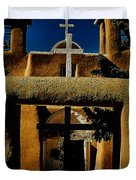 St. Francis Gate Duvet Cover