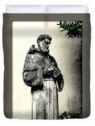 St. Francis In St. James Duvet Cover