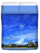St. George Island Florida Duvet Cover