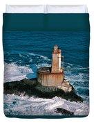 St. George Reef Light Duvet Cover