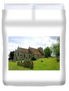 St George's Church At Arreton Duvet Cover by Rod Johnson