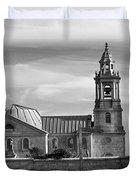 St Georges Church Portland Duvet Cover