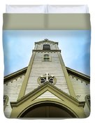 St. Ignatius Of Loyola Church And Cemetary Duvet Cover