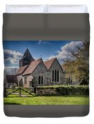 St James The Great Elmsted Duvet Cover