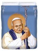 St. John Paul II - Rljp2 Duvet Cover