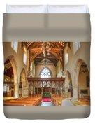 St John The Baptist Penshurst Interior Duvet Cover