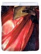St John The Evangelist 1579 Duvet Cover