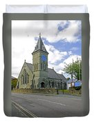 St John The Evangelist Church At Wroxall Duvet Cover by Rod Johnson