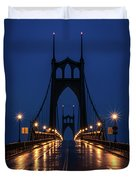 St Johns Bridge Shine Duvet Cover