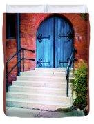 St. John's Door Duvet Cover