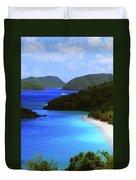 St. John's Paradise Duvet Cover