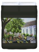 St John's Parish Church Duvet Cover