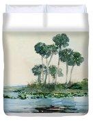 St John's River Florida Duvet Cover