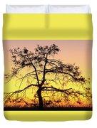St Johns River Tree Duvet Cover