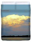 St Lawrence Sunset 4 Duvet Cover