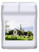 St Leonard's Church At Monyash Duvet Cover