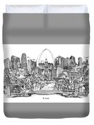 St. Louis 4 Duvet Cover
