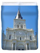 St. Louis Cathedral Study 1 Duvet Cover