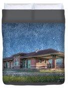 St Louis Iron Mountain Depot Duvet Cover