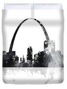 St Louis Missouri Skyline Duvet Cover