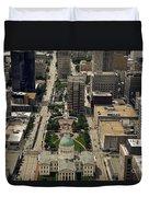 St. Louis Overview Duvet Cover