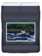 St Louis River Scrapbook Page 1 Duvet Cover