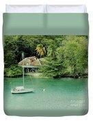 St. Lucia Mooring Duvet Cover