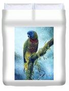 St. Lucia Parrot - Majestic Duvet Cover